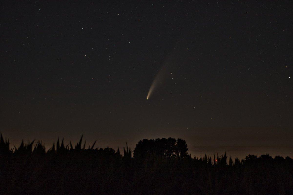 Auch von meinen Standort war der Komet Neowise super zu sehen. Sogar mit bloßem Auge zu erkennen. #hembergen #emsdettenleben #emsdetten #pictureoftheday #fotografie #photography #picture #hobbyfotograf #hobbyphotographer #komet #new #neowise #stern #sternenbild #atemberaubend https://t.co/ciIJ6AKQDU