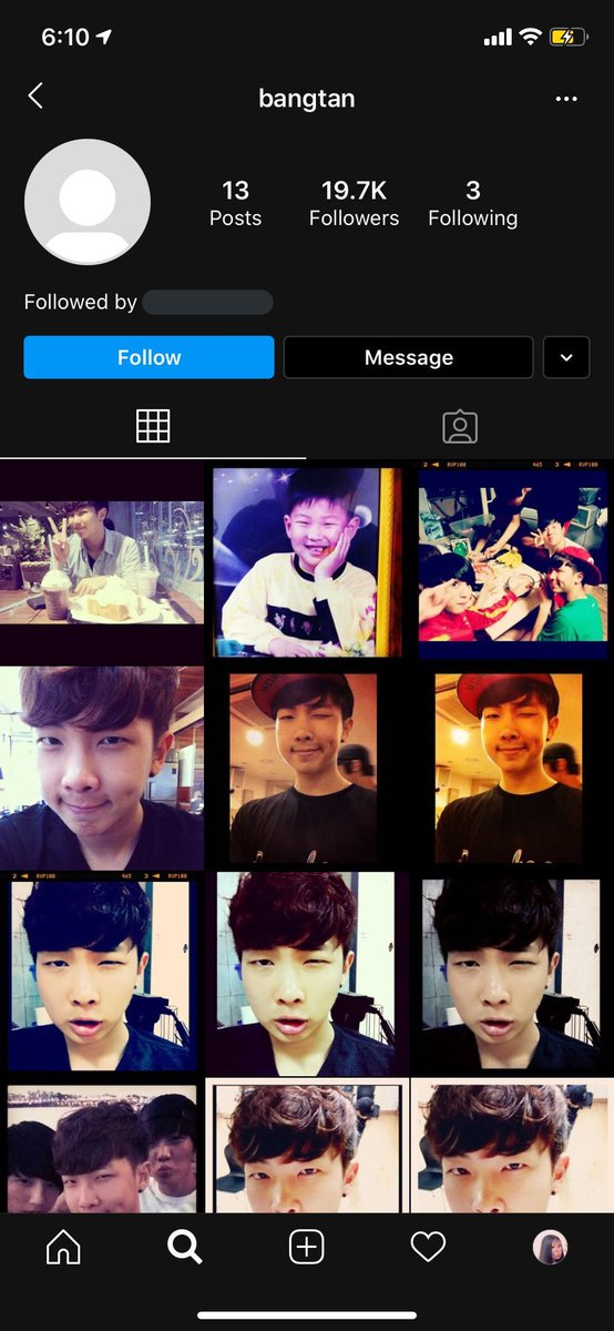 RT @JOONSJJK: SO I GUESS BANGTAN REACTIVATED THEIR OLD IG ACCOUNT AND LOOK AT ALL THE PREDEBUT JOONIE IM SCREAMINF https://t.co/C69wp94hz8