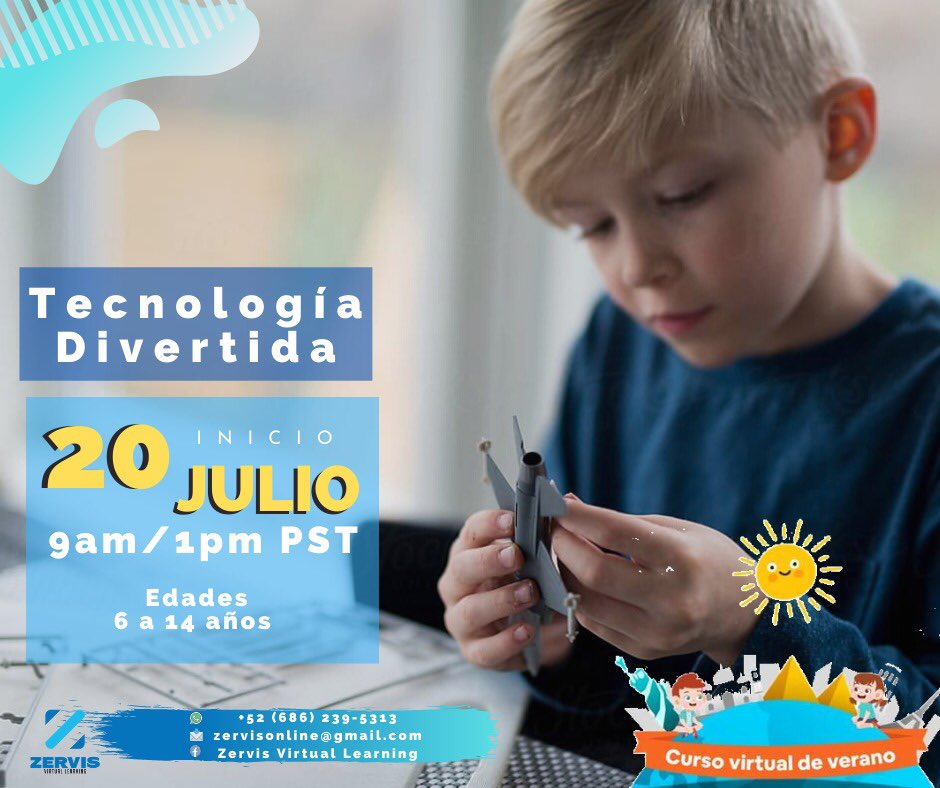 #virtuallearning #summercamp #mindfulness #Zervisonline #emociones #chef #viaje #niños #jóvenes #diversión #hijos #arte #verano2020 #QuédateEnCasa https://t.co/th0OgBiNFu