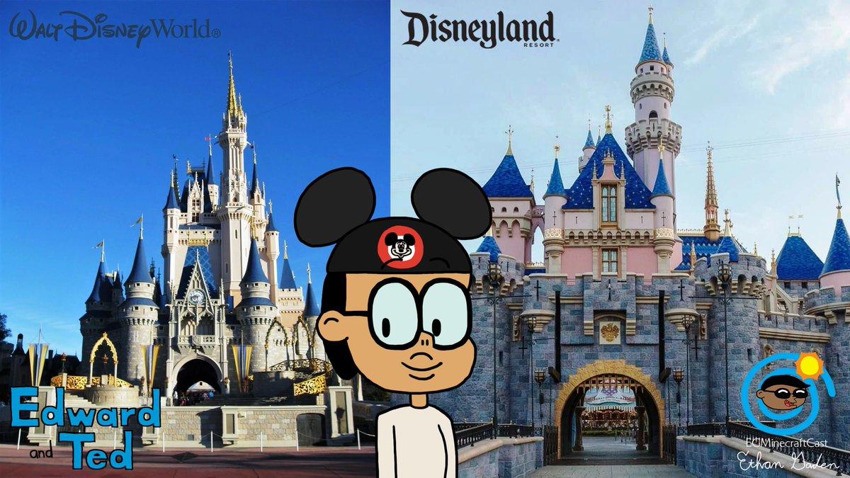 Edward goes to coast to coast (East and West) with 2 Disney resorts! 😀  #EdwardFeldson #EdwardAndTed #MagicKingdom #DisneylandPark #WaltDisneyWorld #WaltDisneyWorldResort #DisneylandResort #Disneyland#Disney https://t.co/UoeNBd0ziy