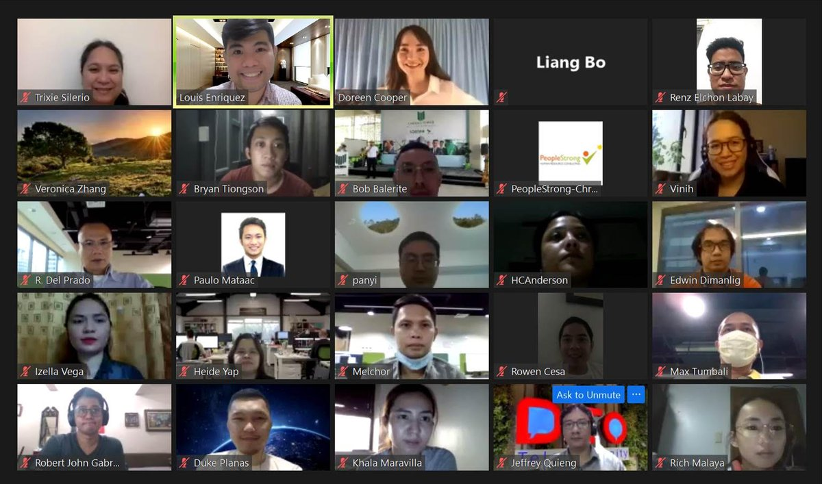 Their L&D Manager said it was their most interactive monthly learning session so far! :) Thank you, @Ditotelecom for the opportunity to facilitate your webinar on 'Managing Unconscious Bias' in partnership my PeopleStrong family! . #work #WorkFromHome https://t.co/6gbN934Zlw