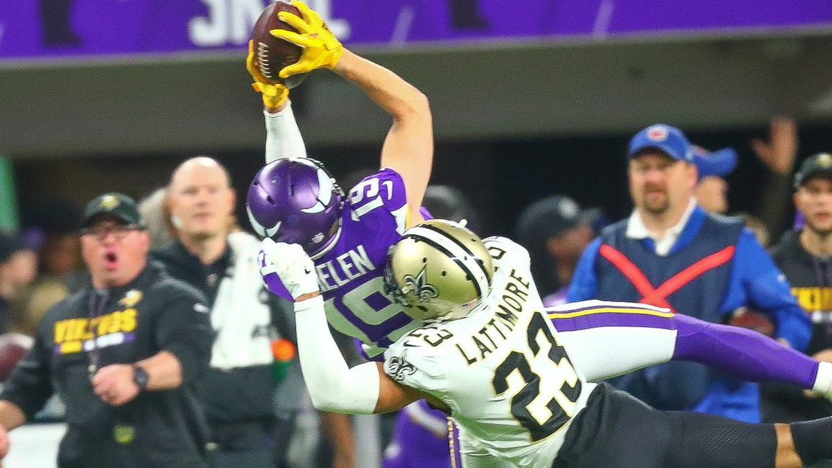 A healthy Adam Thielen is better than Devantae Adams.  Spittin facts. https://t.co/p9Qgz4hK54