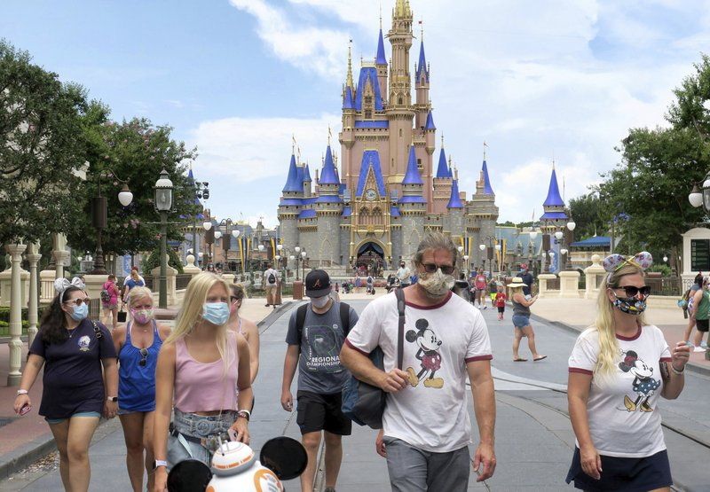 In #Florida, where parts of #WaltDisneyWorld reopened Saturday, 15,299 people tested positive, for a total of 269,811 cases, and 45 deaths were recorded, according to state Department of Health statistics reported Sunday. https://t.co/LBMCAE8wmy #US #COVID19 #pandemic https://t.co/RGGzmncqzl