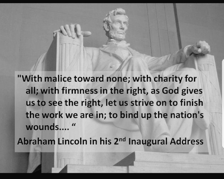 Greatness in a man is not measured solely by his actions, but by the temperment to stand by principle in times of great controversy.   Lincoln truly a great man and great American. pic.twitter.com/tZD59tKlyN