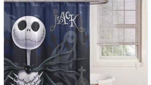 Ooh! Loving this for #Halloween and It's on #Sale  #Macys #NightmareBeforeChristmas Jack Shower Curtain https://t.co/0qbujhp7Zr #Disney #Disneyland #WaltDisneyWorld https://t.co/tqL6s4Trdb