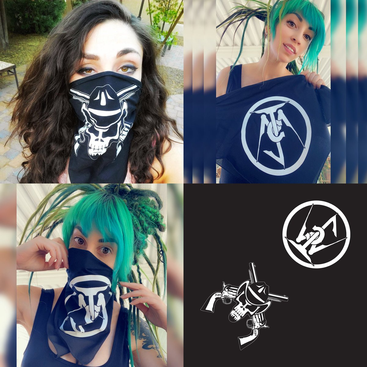 FREE BANDANA with any purchase on my website!