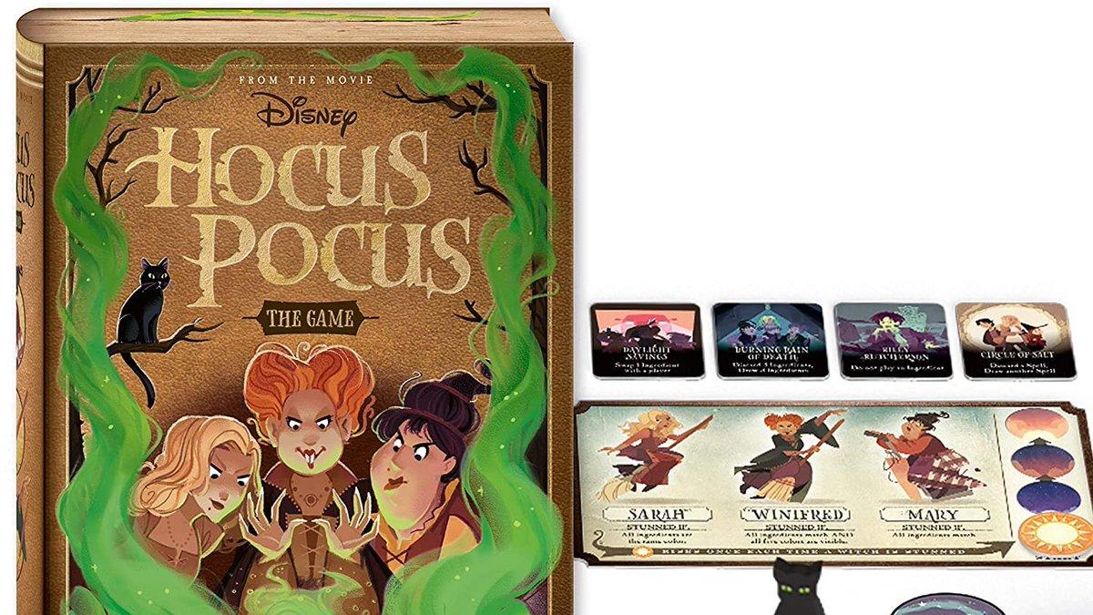#Amazon PreOrder Now! #Disney #HocusPocus The Game https://t.co/Sqt4xZ5Erv #Halloween #Disneyland #WaltDisneyWorld Fans ❤️ https://t.co/Jn2lTha5b0