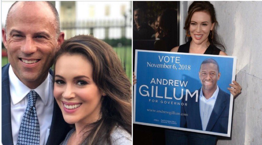 @Alyssa_Milano Because you know how to pick winners🤣