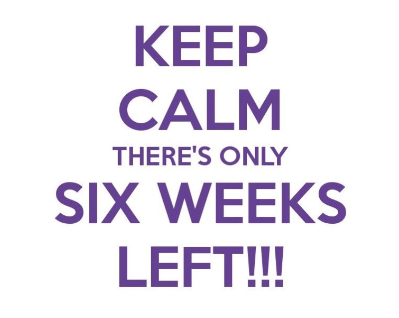 Not like we're counting but... 6 weeks until fall semester begins! It is going to be one for the books, y'all. We miss you and can't wait to see you, even if it ends up over Zoom #sndaatlsu #lsunutritionanddietetics #LSU #fall2020 #keepcalm #summergoals #stayhomestaysafe #maskup https://t.co/bwSRUsTqQX