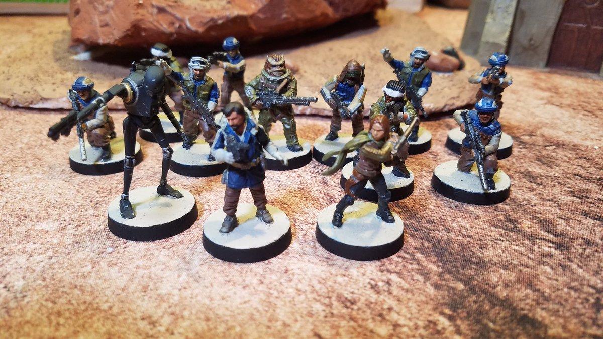"""Make ten men feel like a hundred."" - Cassian Andor - Rogue One #starwarslegion #Miniatures https://t.co/G0lS8FJLqw"