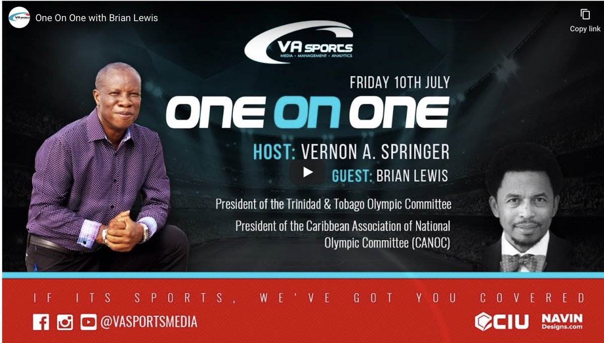 One On One with Brian Lewis https://t.co/D4v4OBPgeC https://t.co/f0pi6ExzDC