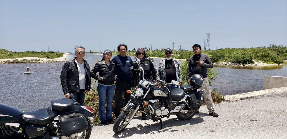 En el camino andamos y ahí nos encontramos #bikers #bikerlife #bikergirl #Yucatan #MBMpic.twitter.com/3PFEDymGIE