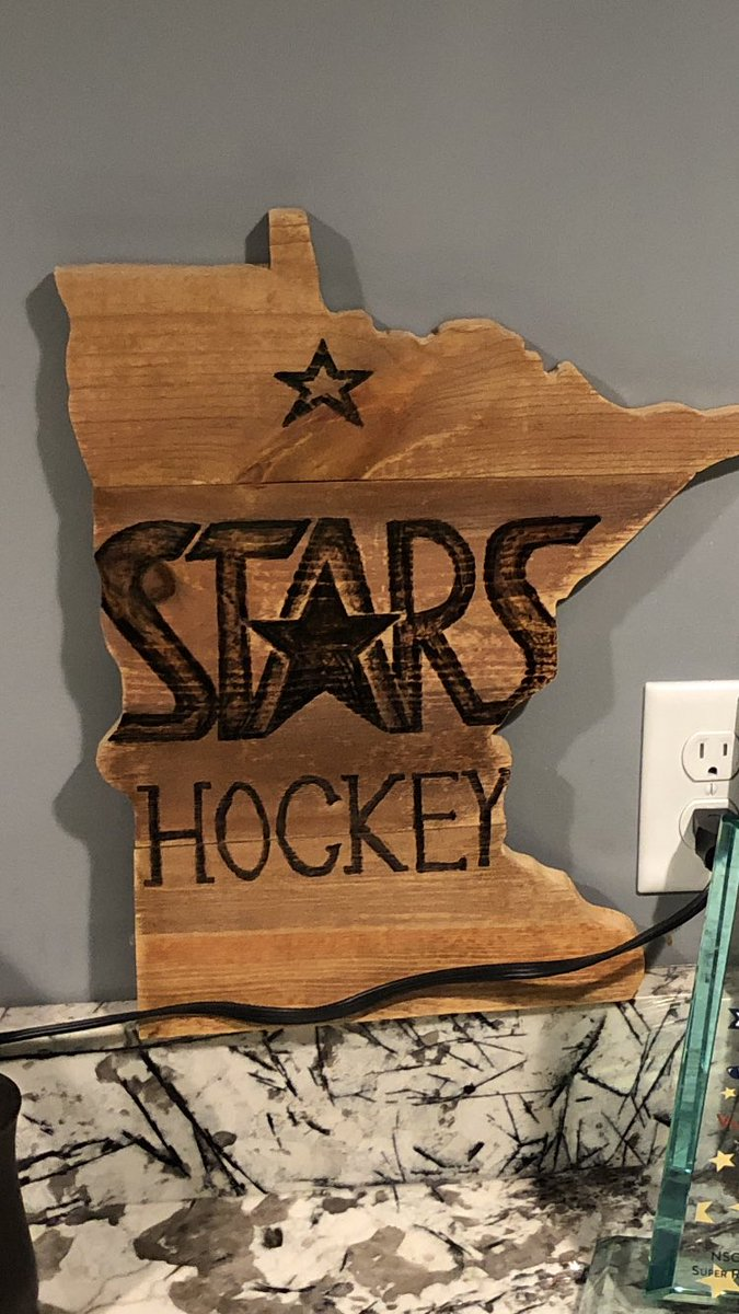 Hey Stars Fans - if anyone is interested in your very own - let me know!   #stars #poundtherockpic.twitter.com/tJ46PEklmA