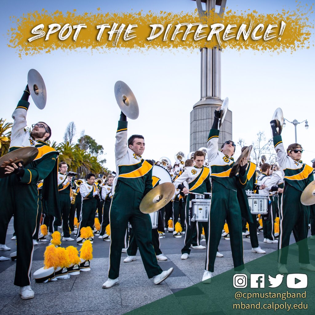 It's that time of the week - Spot the Difference Sunday! Can you spot the four differences between these two pictures? Let us know in the comments! 🐎💚💛 #RideHigh #Cymbals #SpotTheDifference https://t.co/JhwpyguKc0
