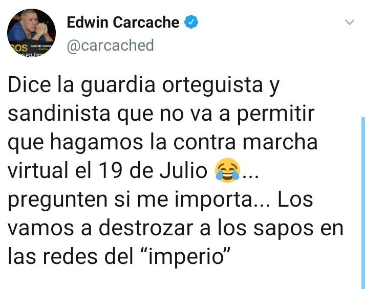 Hiperultragigantesca marcha puchita 🤣 Cuidado que el cadejo anda suelto en Julio y no perdona nada! 🔴⚫ #NoPudieronNiPodran https://t.co/RnEbs4qjb8