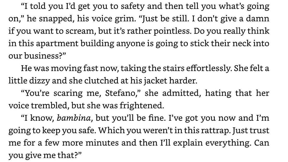"""CW: rape, abuse. very least he takes his anger out on her and she says multiple time through that he's scaring her bc heaven to bid he explains to her what's happened- bc """"what the hell were you thinking, living in a place like that?"""" Some screenshot from that part of the book 8/ pic.twitter.com/QCb7Ejpp0m"""