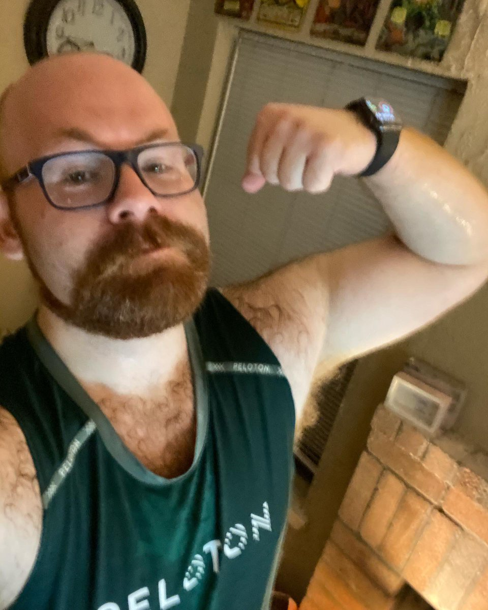 Intervals and Arms are a killer!! 545 calories burned and 11 points now within PR!! #FitnessMotivation #weightlossjourney #gayfitness #gay #gayselfie #gaydallas #dallasgay #bear #fitnessjourney #gayman #gaymuslcepic.twitter.com/WbxqQEBJdM