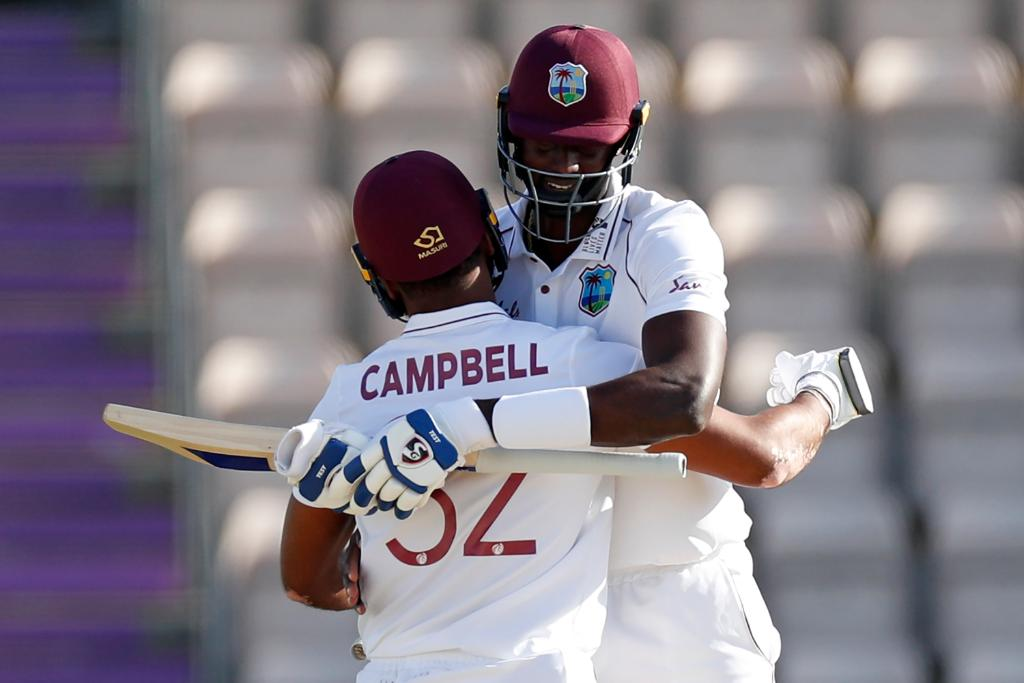 West Indies drew the first blood in a three Test series. (Credits: Twitter/ ICC)