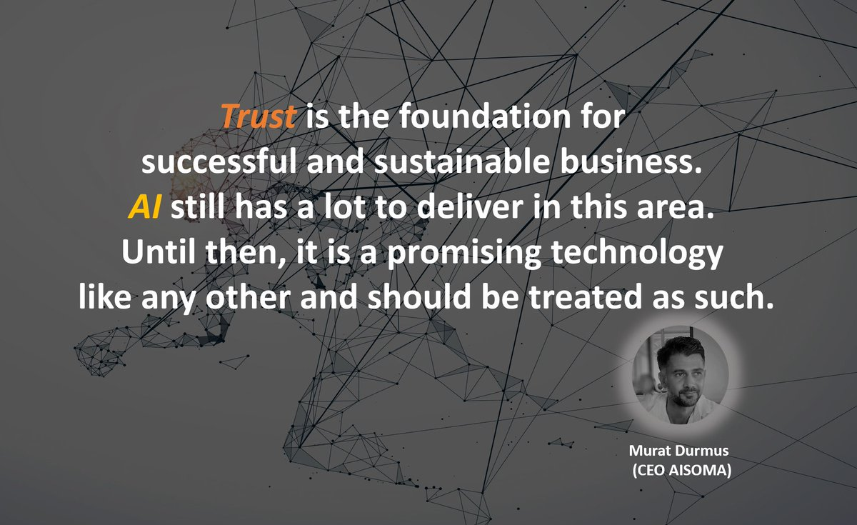 Thoughts on #ArtificialIntelligence   #AI #KI #Trust #AIEthics #businessethics #EmergingTech #DigitalTransformation #disruption #100DaysOfCode #innovation #technology #BusinessGrowth #BusinessStrategy #Sustainability #defstar5 #quote #thoughts #MondayMotivaton https://t.co/P1Uwywfz1P