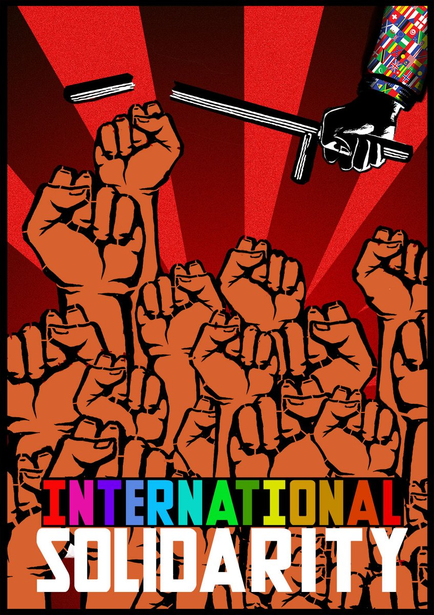 It is the time for International Solidarity #Solidarity #Solidaridad #international pic.twitter.com/nFeDOQfgVT