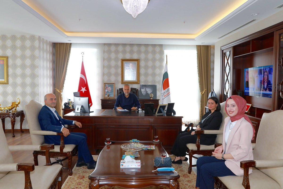 Maks Okulları kurucusu Bülent Büke misafirimiz.Nazik ziyaretlerinden ötürü teşekkür ediyorum. https://t.co/xmMHoyZlUJ