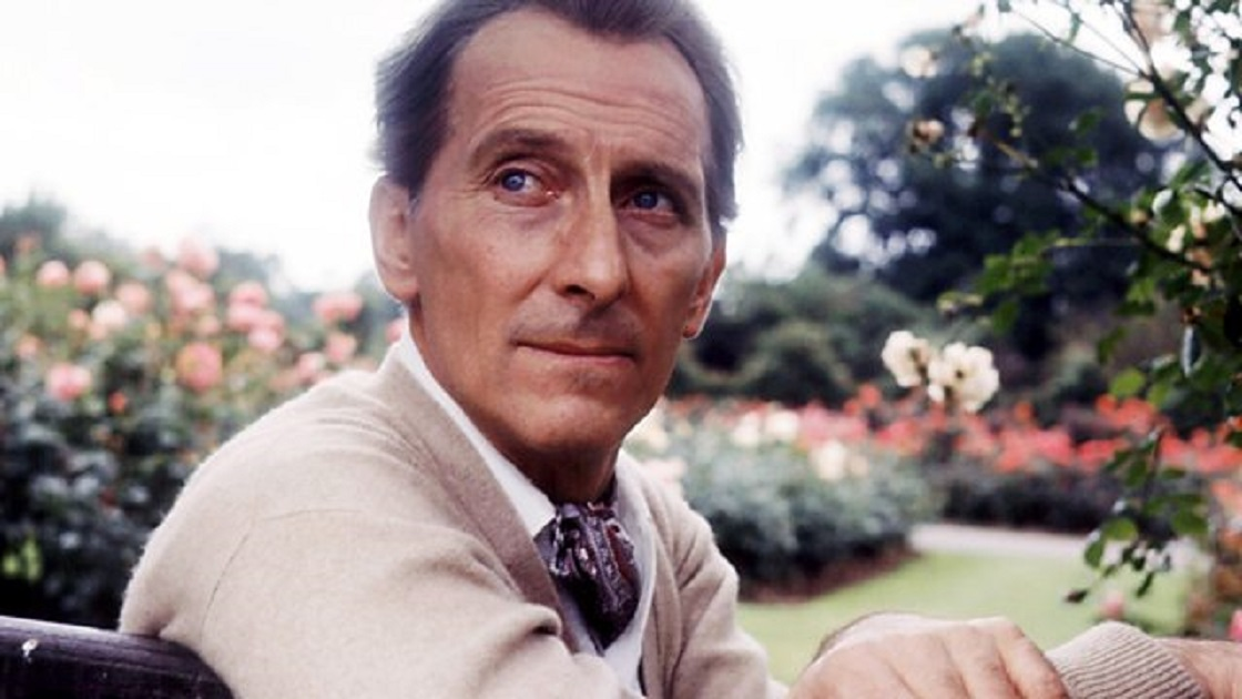 Peter Cushing in 1965 as relaxed as he can be....... (he was called old blue eyes...in keeping with the theme)<br>http://pic.twitter.com/Oox5MZztzt