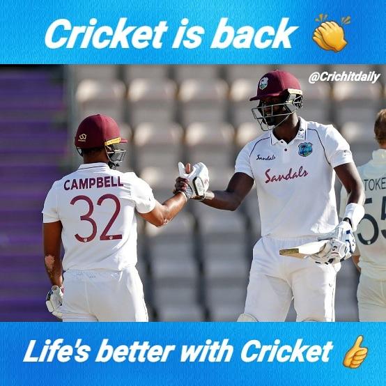 Great week of test Cricket 👏👏👏 #cricket #england #ENGvWI  @windiescricket https://t.co/BupauNarUS