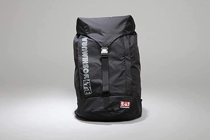 「ヨシムラ」の新作デイパック❗️表面に撥水加工、裏面は防水加工。バッグ内側に収納ポケット、外ポケットは内側と別空間となっており、小物入れに便利。更にパッカブル仕様で、コンパクトに持ち運べる〜‼️😆