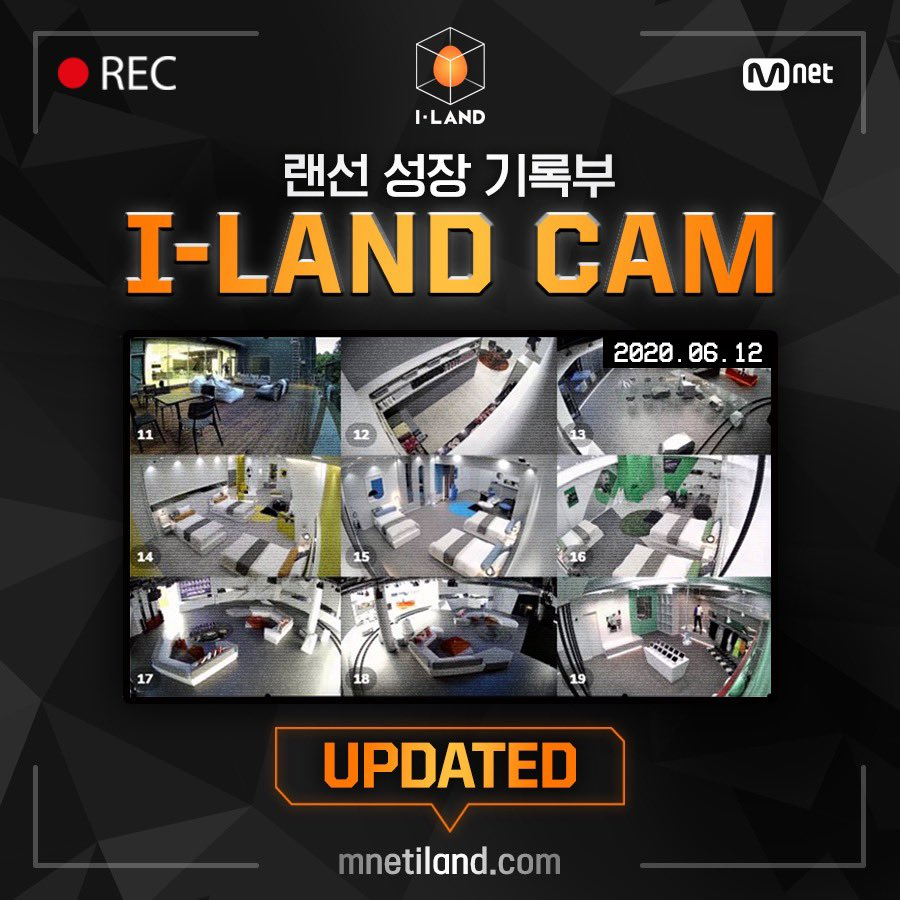 <I-LAND CAM> 6월 12일자 첫 번째 CAM 오픈! 매주 월·수·금 오후 6시, 업데이트 되는 #I_LAND_CAM 을 확인하세요! ▶️mnetiland.com The First I-LAND CAM Updated from June 12th! Every Mon·Wed·Fri 6PM(KST), Regularly updated <I-LAND CAM>! #Mnet #엠넷 #ILAND #I_LAND #아이랜드