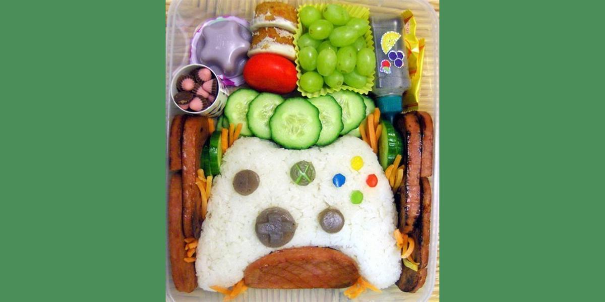 Gaming Themed Bento Box  #Technology #Funny #LOL #Gaming #VideoGames #Xbox https://t.co/6ImztWXorF