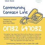 Image for the Tweet beginning: Our Community Contact telephone support