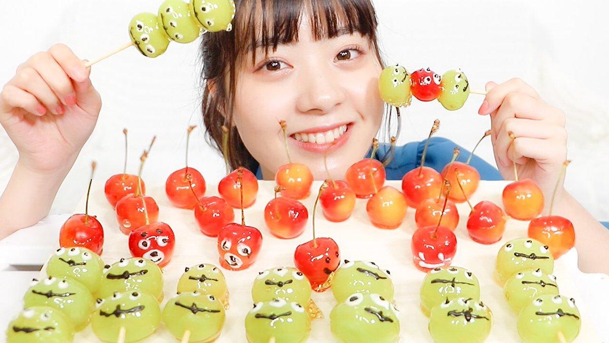 🐙 今日の動画 🐙【インスタ映え】ディズニーキャラのフルーツ飴作ってみた!【挑戦】URL >>>