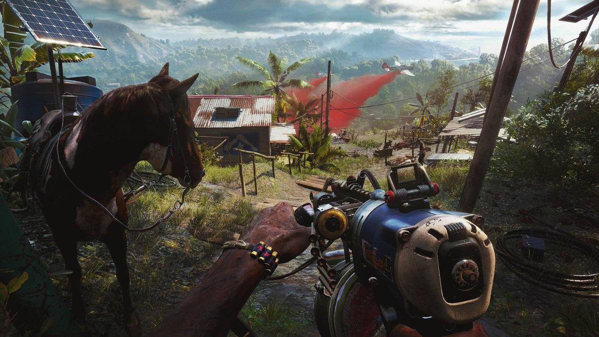 you can ride horse in fc 6? 🤯 #FarCry6 #ubisoft #xbox #Ps4 https://t.co/h1SfPUtd5A