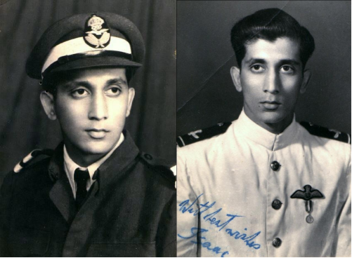 A rare, treasured history of Wing Commander Isaac Ezekiel Awaskar, a #Jew pilot of #Indian #AirForce @IAF_MCC 1950-60's and colleague of my father Group Captain Amrik Singh Ahluwalia (Retd) from #IAF Canberra Bomber Squadron   #military #Sikh #Israel #India