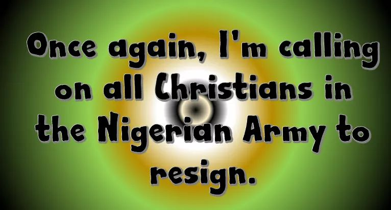 They are killing Christians in the Nigerian Army and so what, what do you expect? they are killing them because they are very stupid, daft and dumb to serve as a Terrorist Failed State Called Niggar-Area.  Here is @MaziNnamdiKanu broadcast  of 13.05.2020. Retweet to reach them <br>http://pic.twitter.com/9slYgPZvCt