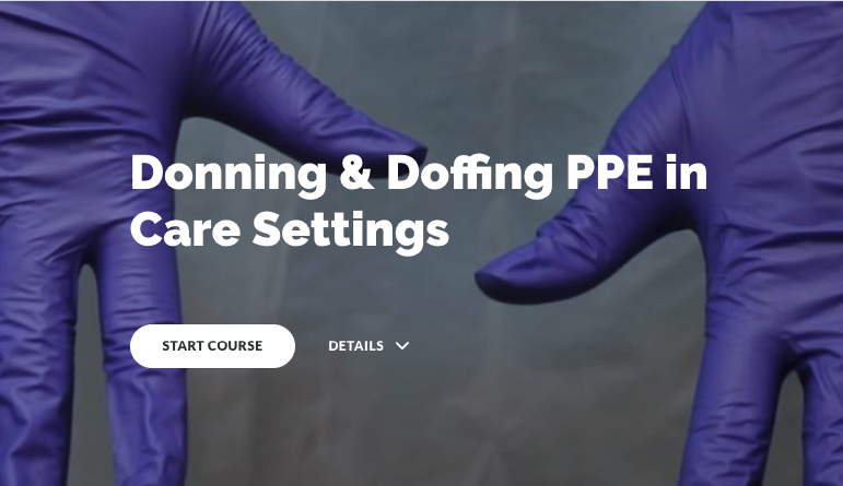 Check out this FREE resource about how to safely don/doff PPE in care settings: https://t.co/mJx5LtltDB (Created in collab with our friends @Outtakesfilm)  #PPE #DigitalLearning #Health #Care #LearningVideo https://t.co/uUFiQ6ln2L