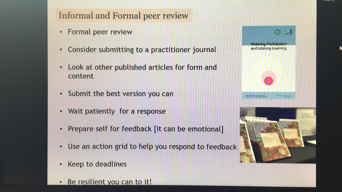 #FEVirtualResearchmeet so many practical tips and word of encouragement re academic writing from @Samheadart