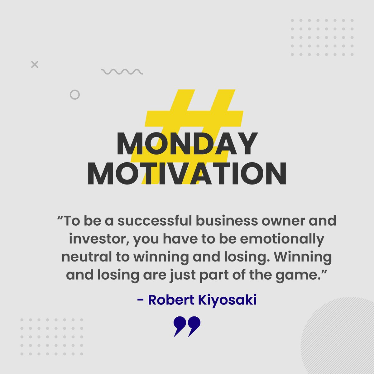 Emotions can trigger irrational decisions that can cause investors money. Those who can tame them, go on to achieve greatness.  #shravanboyapati #mondaymotivation #business #india #knowledge #wisdom #finance #business #robertkiyosakipic.twitter.com/wZjoOnc2dt