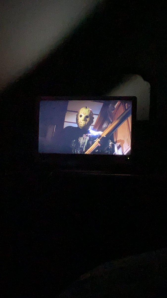 A little Jason takes Manhattan tonight...#FridayThe13th #fridaythe13thpart8jasontakesmanhattan #horror #horrormovies pic.twitter.com/Ei4Pd7eAFB