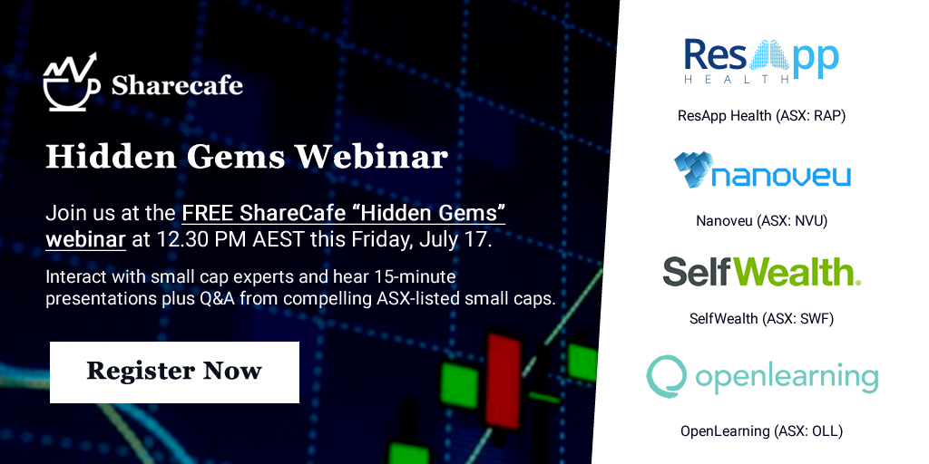 Our Hidden Gems #webinar series returns this Friday and we have a cracking line-up of #ASX #stocks including @_selfwealth, @nanoveuofficial, @openlrning & @resapphealth - Register here 👉 https://t.co/DaWxZY2ua5 https://t.co/s1dY4Up9fA