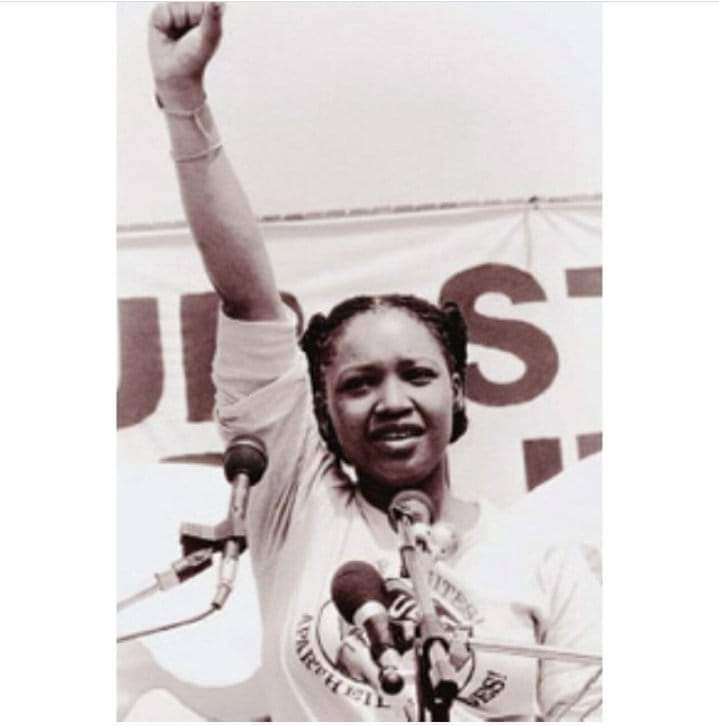 #ZindziMandela our fearless queen, daughter of Nomzamo, rest well sister. <br>http://pic.twitter.com/lwh3NHsXPb