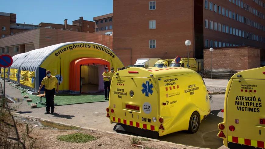 Coronavirus : l'Espagne reconfine près de 200 000 personnes après un fort rebond de cas via @francebleu https://t.co/Yqa3e5onu0 https://t.co/fXZBCVXvuT