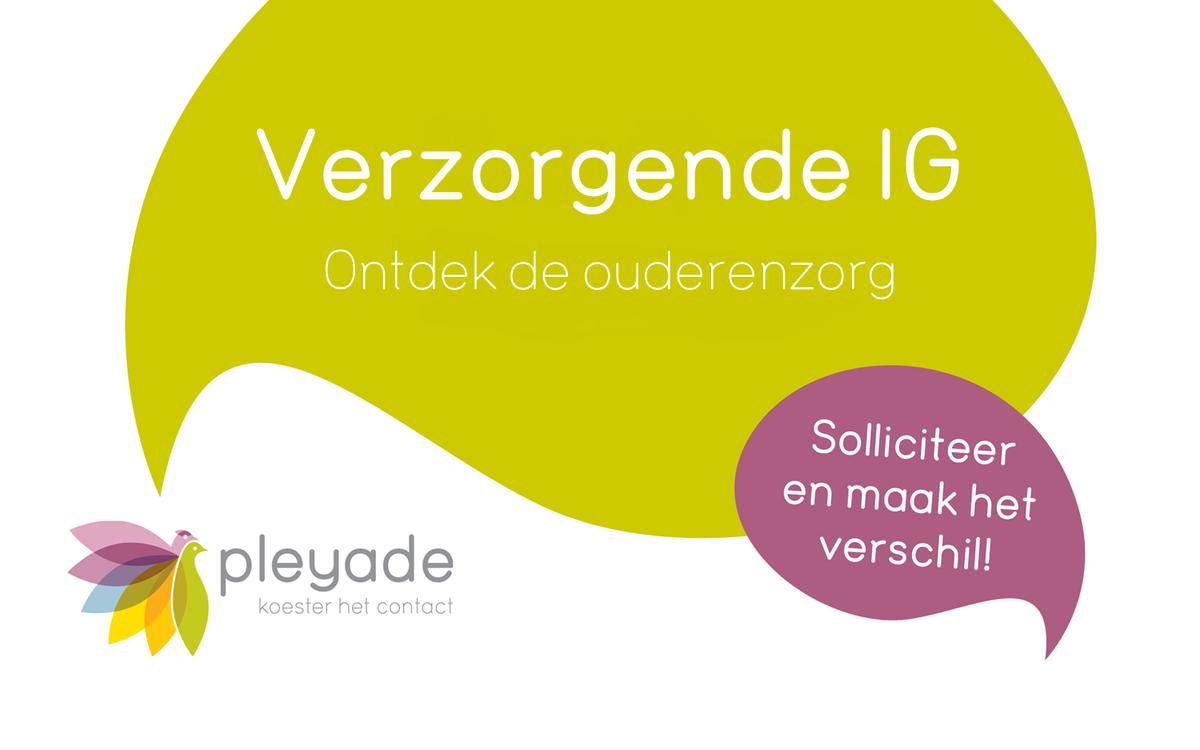 Voor jou als #verzorgende #IG zijn de mogelijkheden bij Pleyade zeer divers. Kom #werken in #Arnhem, #Elst, #Duiven, #Zevenaar, #Giesbeek en #Tolkamer. Kom kennismaken of #solliciteer direct! https://t.co/wsKbH47sjK  #ouderenzorg #zorg #werkenindezorg #ikzorg #vacature #delenmag https://t.co/dfOB9wCSYT