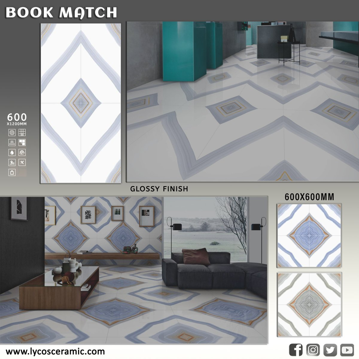 One aim, EXCELLENCE. Porcelain Wall & Floor Tile Tile Size: 60x60 CM   60x120 CM More designs: http://www.lycosceramic.com/tile   For Catalogue Email: export@lycosceramic.com  #PorcelainTile #GlossyFinish #VitrifiedTile #TilesSizes #TileDesign #WallTiles #FloorTiles #LycosCeramic #Lycospic.twitter.com/wgPFZwZfW4