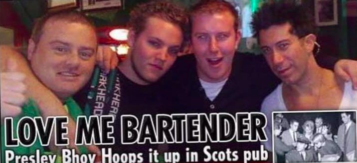 Seriously shocked by the news of the death of #BenKeough. 27 years old, a loving wee soul, one of the #bhoys. Never forget our trip to #Celticfc park.. Hope ur singing #YNWA with your grandad, the king #ElvisPresley x will miss you pal Utter #Devastated    #Coybig #BlowinBubbles https://t.co/59e5DMSJPU