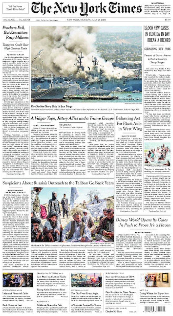 https://t.co/3hKhFi6bYb  #NewYorkTimes #Times #News #Newspaper #NewYork #International #UE #Europe #USA #Trump #DowJones #Nasdaq #Coronavirus #Covid19 #BlackLivesMatter #GeorgesFloyd #RayshardBrooks #Racism #Police #Bolton #Juneteenth #ICantBreath #Epstein #GhislaineMaxwell https://t.co/A5O7kt6kKw