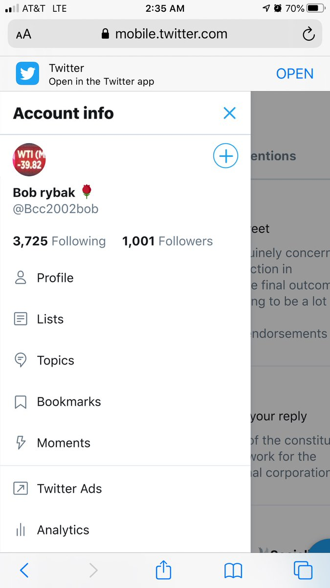 I just want to thank you all for the 1,000 followers. Here's to the next 1,000. https://t.co/L93df4m37z