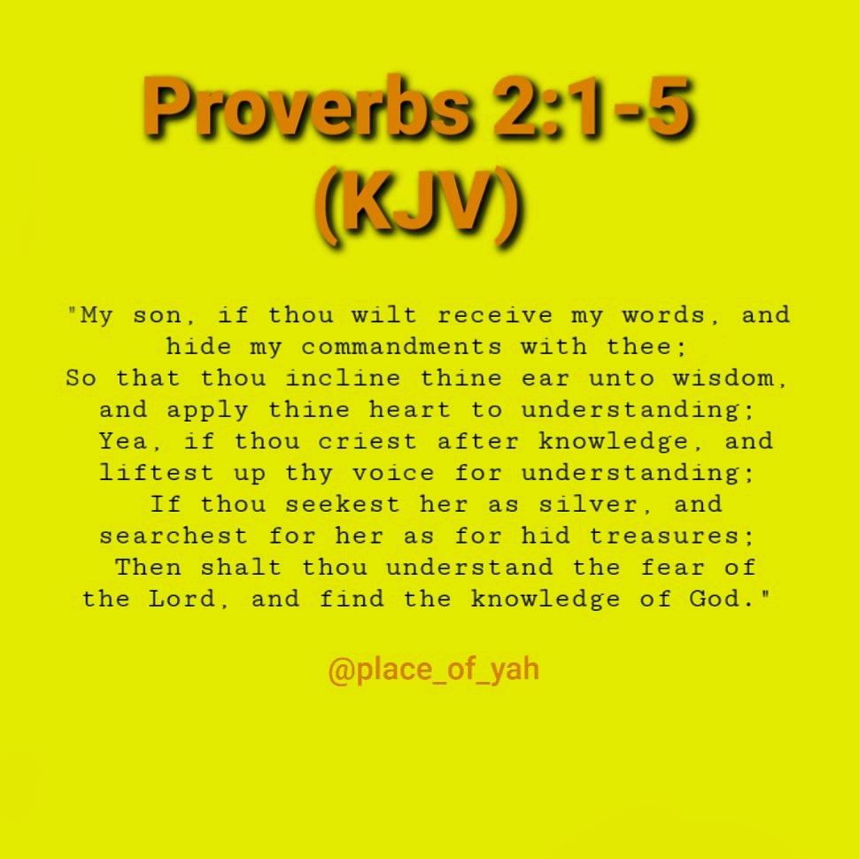 The Importance of Knowledge & Understanding...  #🙏🏾 #🙏 #Proverbs #Proverbs2 #Love #Wisdom #Knowledge #Understanding #FearOfTheLord #Yahweh #God #Love #Mercy #LiftUpThyVoice #Commandments #SeekYeFirst #LoveAgain #KJV #Proverbs215 #Yahusha #Jesus #RuahHaQodesh #TheHolySpirit https://t.co/8nnH0DDkjt
