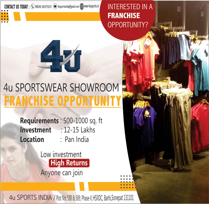 Take the benefit of this opportunity & open first OUTLET in your city..!!!#4usports #Retail #Franchise #Business #Opportunities #NewBusiness #Startup #LocalForVocal   #Sportswear #GymWear #GoodBusiness #sportswear #activewear #gymwear #fitnesswear #sportspic.twitter.com/tR1Zd3O3PU