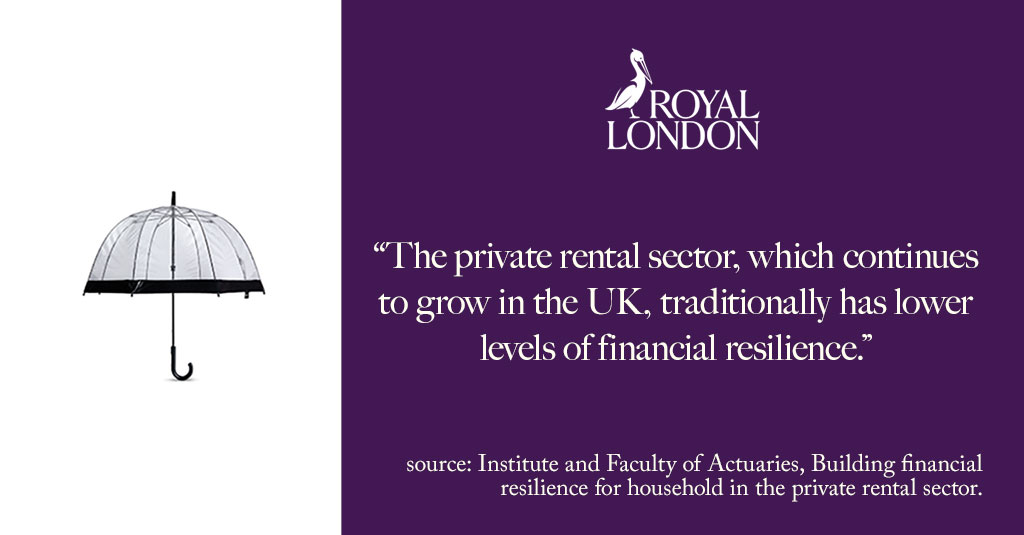 Due to a problematic interaction with the state benefits system, some renters may find that Income Protection doesn't help keep a roof over their head. The Institute and Faculty of Actuaries @actuarynews describes the problem and suggests a solution  https://t.co/yBkoiYwfoA https://t.co/PAMXOha28g